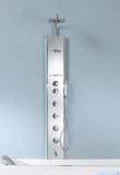 Novellini Aqua 1 Cascata 2 panel prysznicowy biały bateria mechaniczna CASC2VM-A