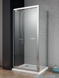 Radaway Twist DW+S kabina prysznicowa 90x75cm szkło przejrzyste 382002-01/382010-01