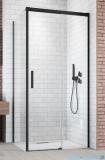 Radaway Idea Black Kdj ścianka boczna 110cm lewa szkło przejrzyste 387053-54-01L