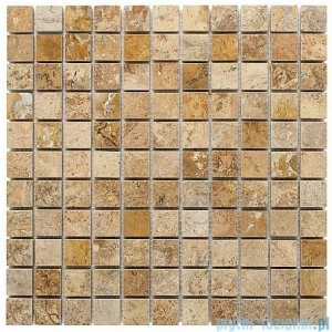 Dunin mozaika kamienna 30x30 travertine cream 25