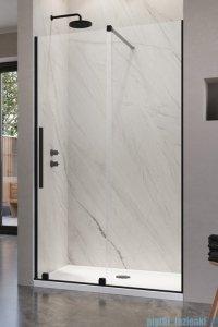Radaway Furo Black DWJ drzwi prysznicowe 120cm prawe szkło przejrzyste 10107622-54-01R/10110580-01-01