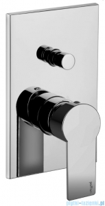 Paffoni Tango Bateria podtynkowa z przełącznikiem chrom TA015CR