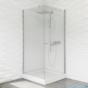 Duso kabina prysznicowa kwadratowa 80x80x195cm przejrzyste DS501T