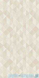 Paradyż Domus beige triangle płytka ścienna 30x60