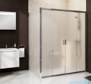 Ravak Blix BLDP4 drzwi prysznicowe 130cm satyna transparent Anticalc 0YVJ0U00Z1