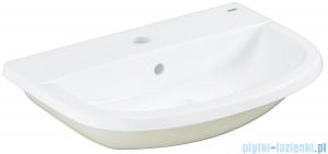 Grohe Bau Ceramic umywalka 56x40 cm wpuszczana w blat biała 39422000