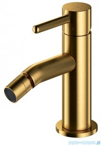 Omnires Y bateria bidetowa sztorcowa złoto szczotkowane Y1220GLB