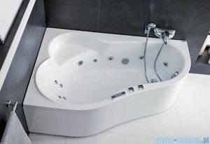 Poolspa Wanna asymetryczna LEDA 150x100 lewa + hydromasaż Smart 1 PHAE510ST1C0000