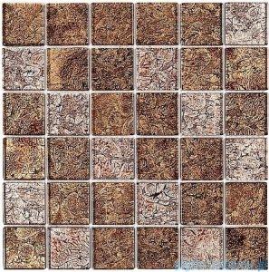 Dunin Spark mozaika szklana 30x30 walnut mix 48