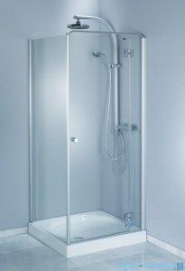 Aquaform Sol drzwi kabinowe do montażu ze ścianką De Luxe 90cm szkło przejrzyste prawe 06051