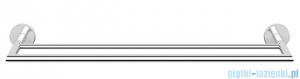 Oltens Tved wieszak na ręcznik 60 cm pojedynczy chrom 80106100