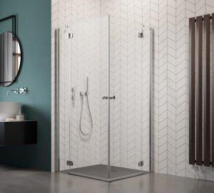 Radaway Torrenta Kdd Kabina prysznicowa 100x80 szkło carre 32273-01-10NL