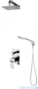 Omnires Slide zestaw podtynkowy prysznicowy chrom SYSSL10CR
