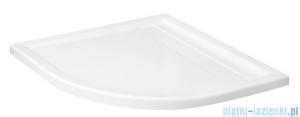 Schedpol Camparo Brodzik półokrągły z klapką odpływu 90x90x6,5cm 3.084