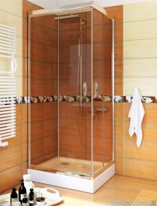 Sea Horse Stylio kabina natryskowa kwadratowa 90x90x190 cm brąz BK502QB+