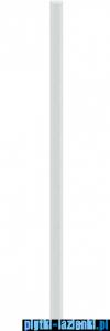 Paradyż uniwersalna listwa szklana fazowana ivory 3x75