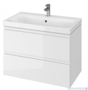 Cersanit Moduo Slim szafka wisząca z umywalką 80x37x62 cm biała S801-225