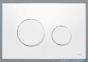 Tece Przycisk spłukujący z tworzywa-do WC Teceloop biały 9.240.600