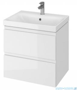 Cersanit Moduo Slim szafka wisząca z umywalką 60x37x62 cm biała S801-227