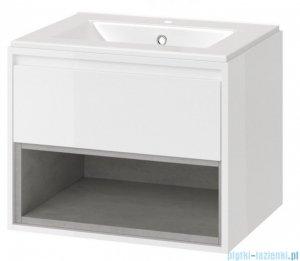 Excellent Tuto szafka wisząca z umywalką 60x50x45 cm biały beton MLEX.0101.600.WHCO/CEEX.3617.600.WH