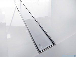 Tece Ruszt prosty ze szkła Tecedrainline 100cm szkło czarne 6.010.92