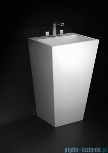 Marmorin umywalka stojąca Tebe 550 biała 55x45x85 cm P530055020010