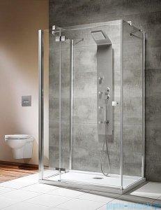 Radaway Kabina prysznicowa Almatea KDJ+S 90x100x90 lewa szkło przejrzyste + brodzik Doros D + syfon 31554-01-01L1/31554-01-01L2