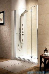 Radaway Drzwi wnękowe Fuenta DWJ 110 prawe szkło grafitowe 381015-05NR
