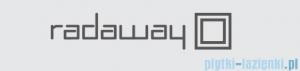 Radaway uszczelka pozioma Eos II PDD, Fuenta New PDD, Essenza New PDD lewa do montażu bez listwy progowej 007-106700100