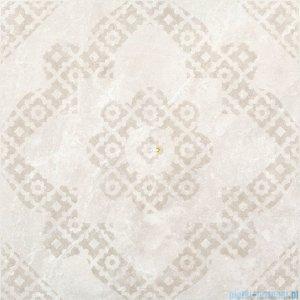 Pilch Verona krem dekor podłogowy 59,6x59,6
