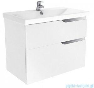 New Trendy Koda szafka wisząca + umywalka 100 cm biały połysk ML-EL210