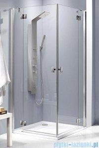 Radaway Essenza KDD kabina 100x100 szkło brązowe + Brodzik Delos C + syfon 32872-01-08N