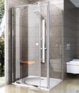 Ravak Pivot PPS ścianka prysznicowa 80cm satyna transparent Anticalc 90G40U00Z1