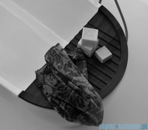 Kerasan Drewniana półeczka na wannę Aquatech 3751