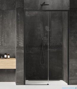 New Trendy Prime Black drzwi wnękowe pojedyncze 100x200 cm prawa przejrzyste D-0317A