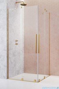 Radaway Furo Gold KDD kabina 90x80cm szkło przejrzyste 10105090-09-01L/10105080-09-01R