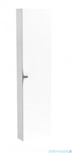 Oristo Siena szafka boczna wysoka 40x160x17cm biały połysk OR45-SB1D-40-1