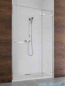 Radaway Euphoria DWJ Drzwi wnękowe 90 prawe szkło przejrzyste + brodzik Delos C + syfon 383612-01R/383212-01R/SDC0909-01