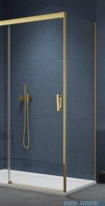 SanSwiss Cadura Gold Line ścianka boczna Cast 70x200cm profile złote CAST0701207
