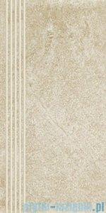 Paradyż Flash bianco mat stopnica 30x60