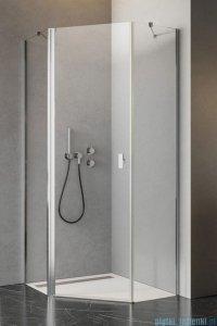 Radaway Nes Ptj kabina 90x80cm lewa szkło przejrzyste 10052000-01-01L/10052300-01-01