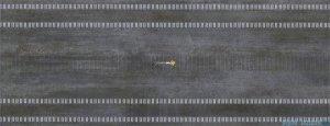 Pilch Nordica 7 szary dekor ścienny 25x65