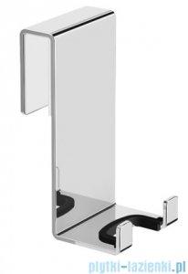Omnires Uni Haczyk podwójny do zawieszenia na ścianie kabiny prysznicowej chrom UN10350