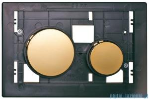 Tece Płytka z przyciskami-do WC Teceloop złote 9.240.668