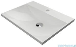 Omnires Naxos F umywalka meblowa 60x46x2,5 cm biała NaxosF600BP