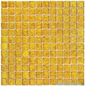 Dunin Spark mozaika szklana 30x30 gold 23