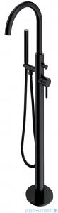 Omnires Y bateria wannowa wolnostojąca czarna Y1233BL