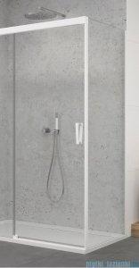 SanSwiss Cadura White Line ścianka boczna Cast 110x200cm profile biały mat CAST1100907