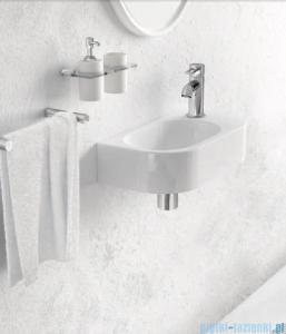 Marmorin umywalka nablatowa Elara 2 bez otworu 40cm biała 400040020010