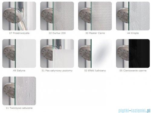 SanSwiss Top-Line Pięciokątna kabina prysznicowa TOP52 z drzwiami otwieranymi 90x90cm pas/biały TOP5260900451